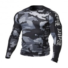 Better Bodies - Flex Tight L/S, grey camo