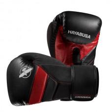 Hayabusa - T3 Boxing Gloves, musta/punainen