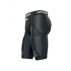 Shock Doctor - Reflex 5 Pad Shorts alasuojataskulla, musta