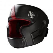 Hayabusa - T3 Head Guard, musta/punainen