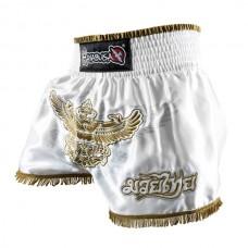 Hayabusa - Garuda Muay Thai Shorts, valkoinen