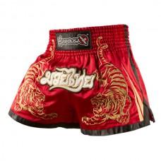 Hayabusa - Premium Muay Thai Shorts, punainen