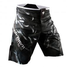 PunchTown - Frakas eX Chainz Shorts, musta