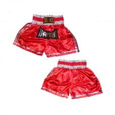 Thaiboxing - Thaiboxing Shorts, punainen-hopea