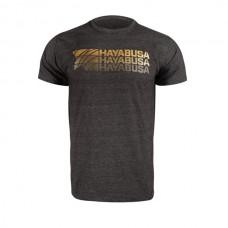 Hayabusa - Triple Threat T-Shirt, tummanharmaa