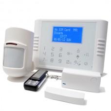 Langaton/langallinen GSM/PSTN hälytysjärjestelmä v1, peruspaketti