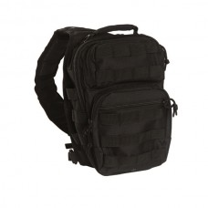 Mil-Tec - One Strap Assault Pack SM, musta