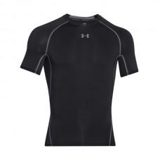 Under Armour - Heatgear Armour Shortsleeve Compression Shirt, musta