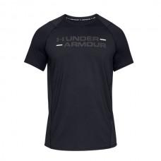 Under Armour - MK1 Wordmark T-shirt, musta
